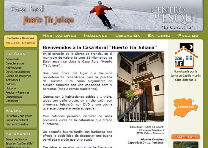 Casa Rural Huerto Tía Juliana